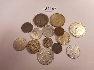 14 Germany Mixed Dates Many WW II Era  Nice Collector Grade Coins - # 131147