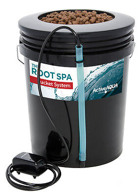 Active Aqua Root Spa 5 Gal Bucket System Hydroponics SAVE WITH BAY HYDRO $$