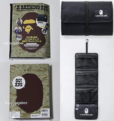 A BATHING APE MOOK BAPE 2017 SPRING COLLECTION w/ 4pockets Organizer Japan New
