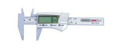 General Tools & Instruments 1433 Fraction Plus Digital Fractional Caliper, Carbo