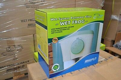 Wet Pipe Rain Water Tank Filtration System / Wet Frog Rainwater final stage
