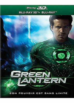 Blu Ray 3D + 2D : Green Lantern 3D + Version 2D - NEUF