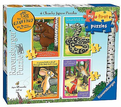 Ravensburger My First Puzzle The Gruffalo (2 3 4 5) Jigsaw