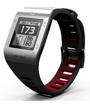 GolfBuddy WT4 Golf GPS Fashion Watch with 37000 preloaded courses