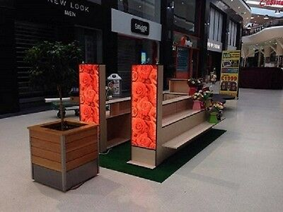 Retail kiosk for shopping mall RMU multipurpose use.For Flowers, Gifts,Souvenirs