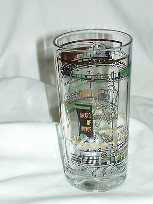 Union Railroad 1967 National Safety Council Award Of Honor Glass.. 12oz Tumbler