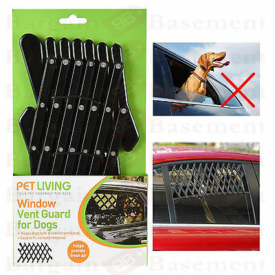 Pet Car Window Vent Safe Guard For Dog Puppy Protection Travel Universal Vehicle