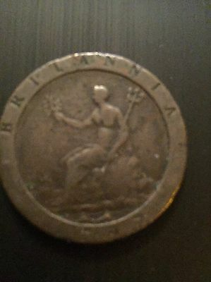 1797 George Iii Cartwheel Two Pence,