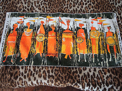 Vintage 'AGE OF KINGS' by TIBOR REICH 1964 Textile panel...