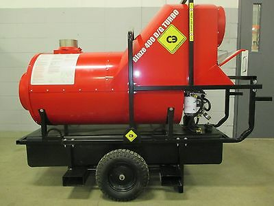 New CAMPO Blaze 400D Turbo, Indirect Oil Fired Heater # Blaze 400 D Turbo