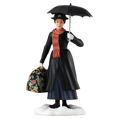 Disney ENCHANTING COLLECTION Practically Perfect MARY POPPINS RESIN figure