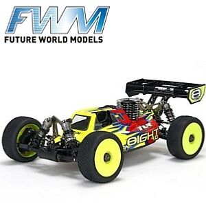 TLR 8IGHT 4.0 Race Kit: 1/8 4WD Nitro Buggy (TLR04003)