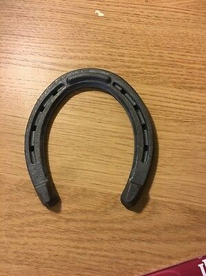 2 Metal Horseshoes