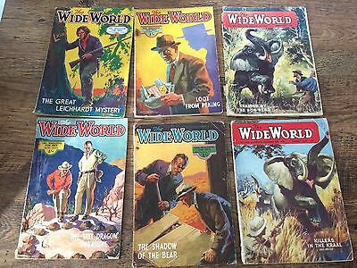 The Wide World Vintage Magazines 1934/37/57/59