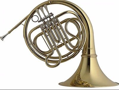 SALE-CLEARANCE--NEW-  SC-FH French Horn & Free Case Bb. Free P&P U.K...Quality