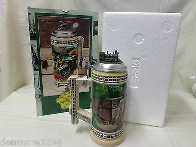 1997 Anheuser Busch Early Transportation Series Train First In Series Stein Nib