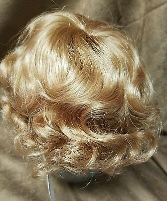 """Global Robbie 15""""-16"""" strawberry blonde synthetic Doll wig"""