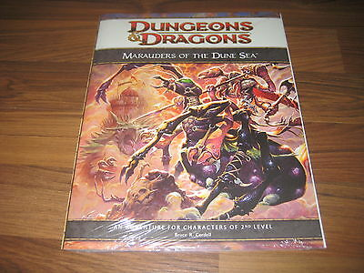 D&D 4th Edition Dark Sun Marauders of the Dune Sea WotC New Neu SW OVP 2010