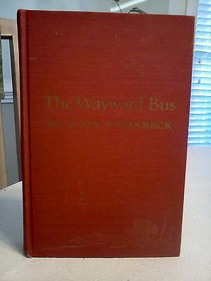 The Wayward Bus by John Steinbeck - 1st Edition - NEW PRICE