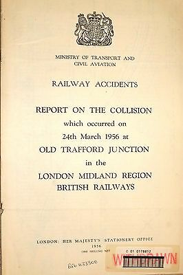 RAILWAY ACCIDENT REPORT: COLLISION at OLD TRAFFORD JUNCTION 24 March 1956