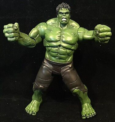 """Marvel Comics 9"""" Hulk Film Action Figure Heavy Great Condition Toy For Sale"""