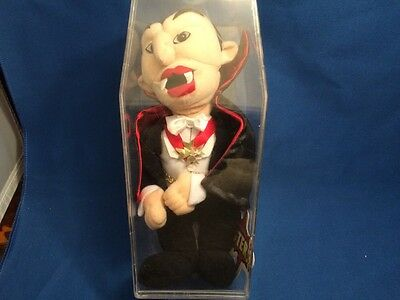 Universal Studios Monsters Dracula CVS Plush With Coffin Case