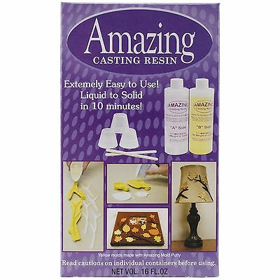 Amazing Casting Products Alumilite Resin 16-Ounce