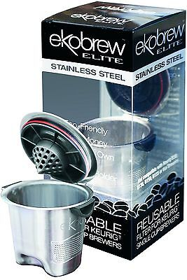 Ekobrew Refillable K-Cup For Keurig K-Cup Brewers Stainless Steel Elite 1-Count