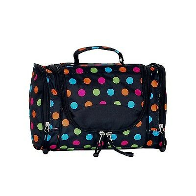 Everest Deluxe Toiletry Bag Polkadot One Size