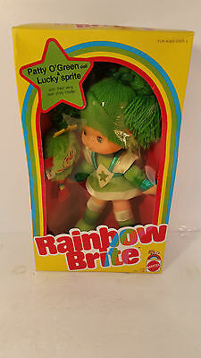 "Patty O'Green Lucky Sprite 7236 Rainbow Brite 10""1983~NM~NIB~Mattel"