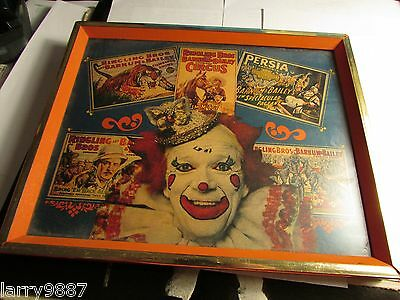 ringling bros and barnum & bailey picture print collage