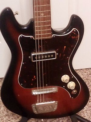 1960s Vintage Kingston Guitar   Made in the Japan    Tiesco / Kawai