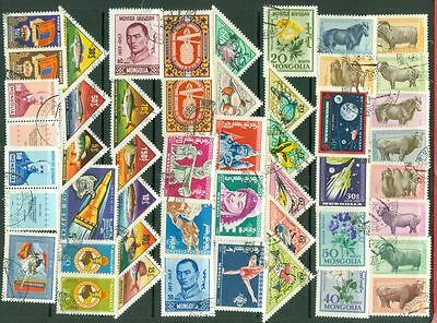 Mongolia 124 diff used stamp Lot#2057