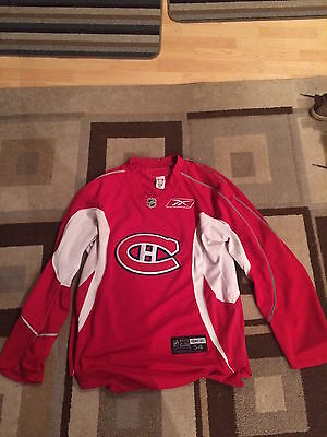 Pro Stock Hockey Montreal Canadiens Practice Jersey  size 54