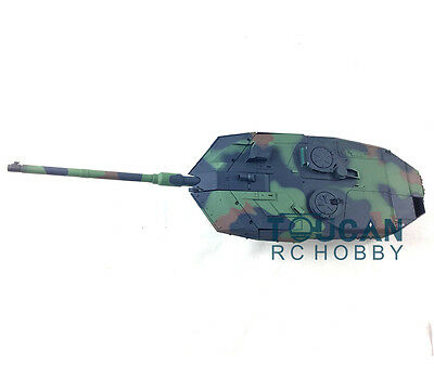 HengLong 1/16 RC Tank Accessory Of German Leopard2A6 Turret Barrel 3889