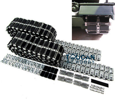 Best Scale HengLong 1/16 Metal RC Tank Rubber PADs Track Tracks Leopard2A6 3889