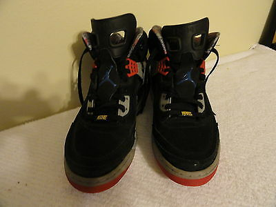 reputable site 0d17a 16e89 NIKE AIR JORDAN Spiz ike Black Cement Grey Red ~ 315371 062 Size