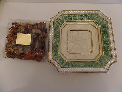 """Fitz and Floyd Gregorian Collection Large 11""""  Potpourri Bowl Gift Set"""