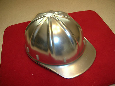 Vtg Aluminum Apex Hard Hat Suspension Adjustable Liner .