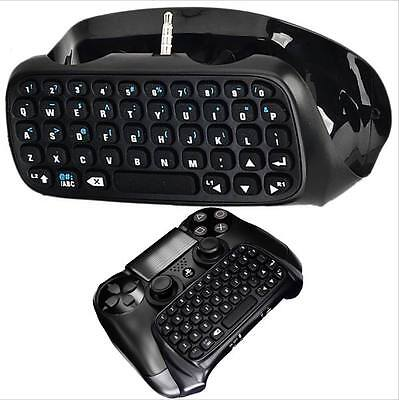 PS4 Wireless Chatpad, Mini keyboard, Message Keyboard Game Gaming Controller