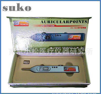 Free shipping auricularpoints detector/ear acupuncture point detector