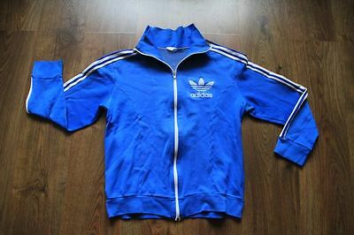 Adidas 80's 90's Sky Blue  Europe  Track Top   100% Authentic