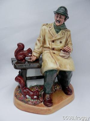 VINTAGE - Royal Doulton Character Figurine **LUNCHTIME** HN 2485