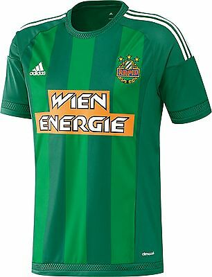 Adidas Rapid Vienna 2015/16 Kids Home Shirt BNWT