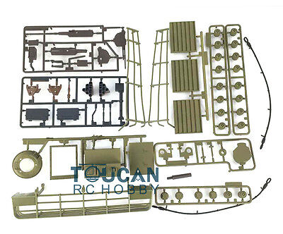 HengLong 1/16 RC M1A2 Abrams RC Tank Decorated Plastic Accessories 3918G Green