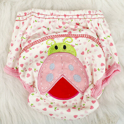 Baby Infants Cloth Diaper Nappy cover Pants Waterproof Ladybug Print Breathable