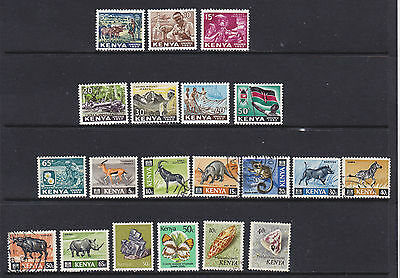 Some small stamps of Kenya