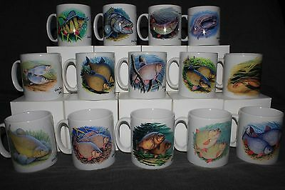 11oz Fish Print Mugs By Renowned Fish Artist Chris Turnbull