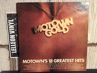 Motown Gold Compilation LP STML12003 Tamla Soul R&B 70's 60's
