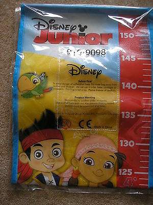 Disney Junior Pirate Themed Height Chart, New In Original Wrapper